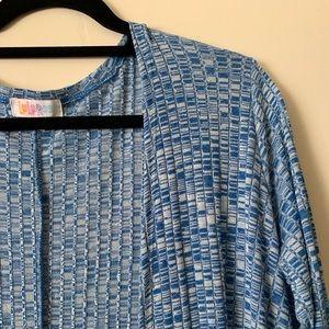 LulaRoe M Sarah duster sweater